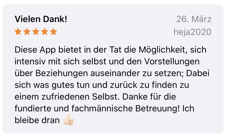 App Bewertung 5