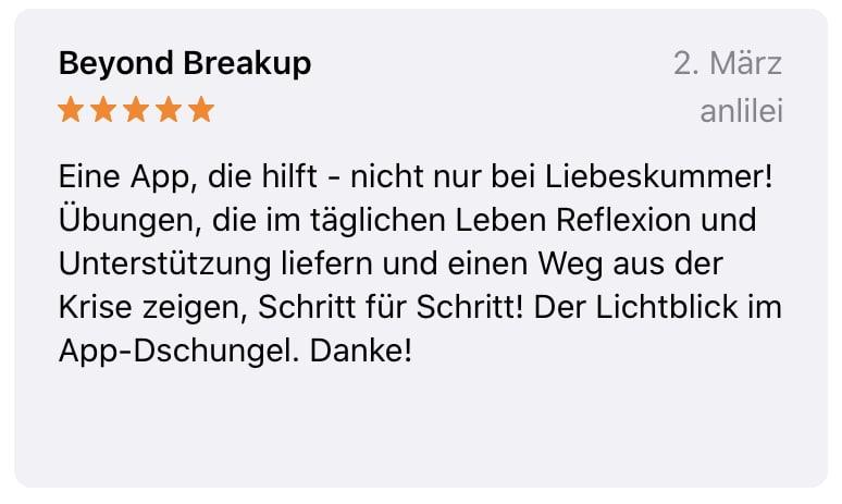 App Bewertung 6