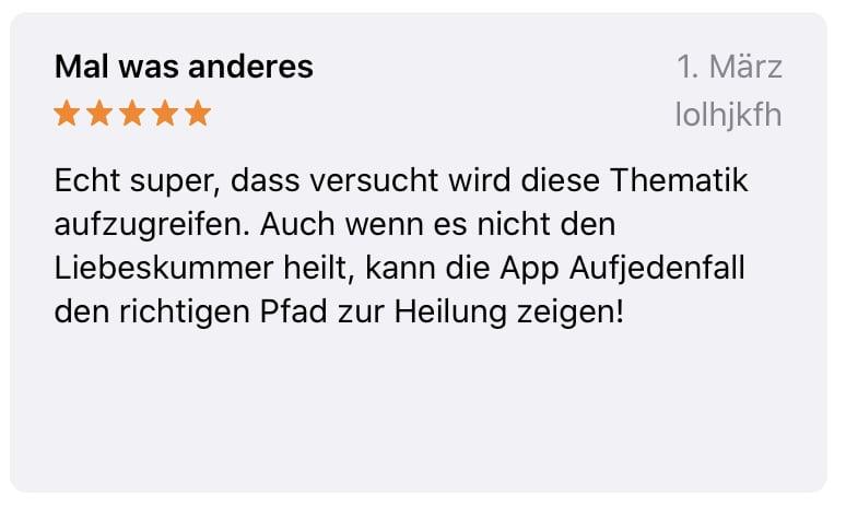 App Bewertung 7